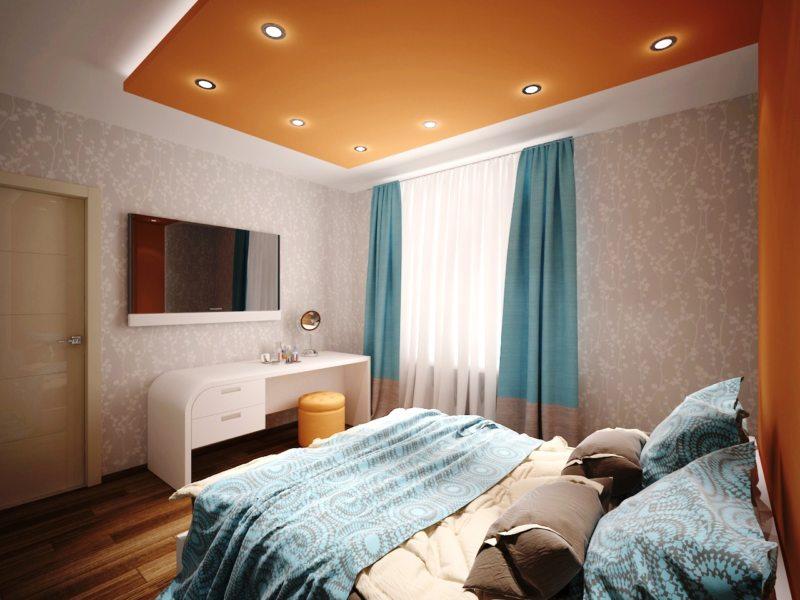 Квадратная спальня (41)