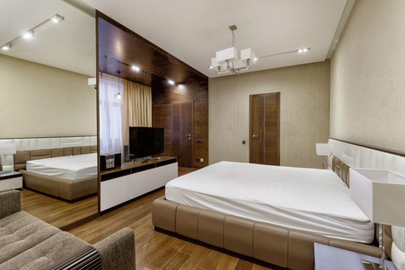 Квадратная спальня (43)
