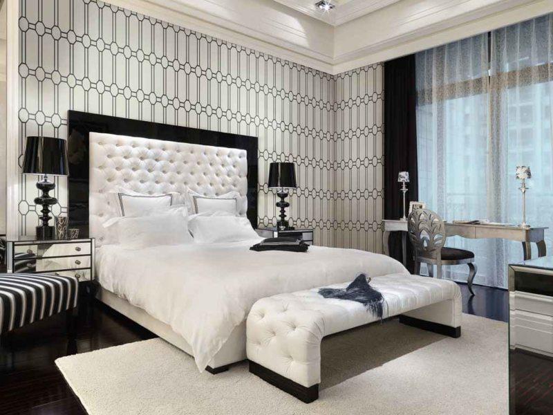 Квадратная спальня (50)