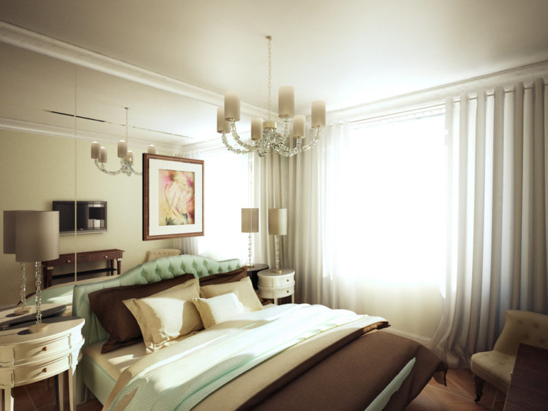 Квадратная спальня (51)
