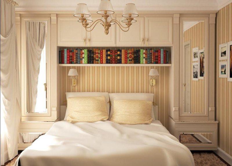 Квадратная спальня (52)