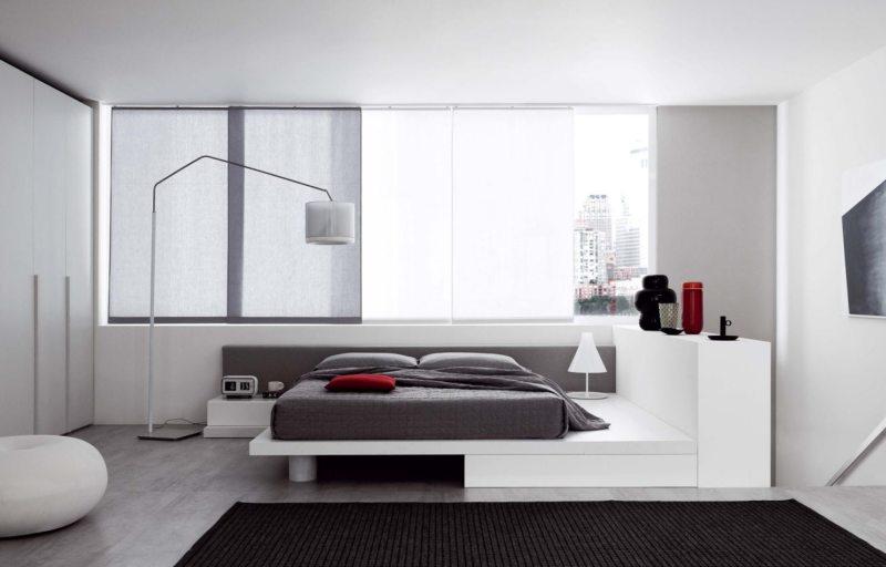 Квадратная спальня (55)