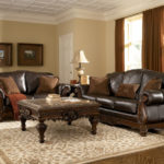 Leather seating living room (10)