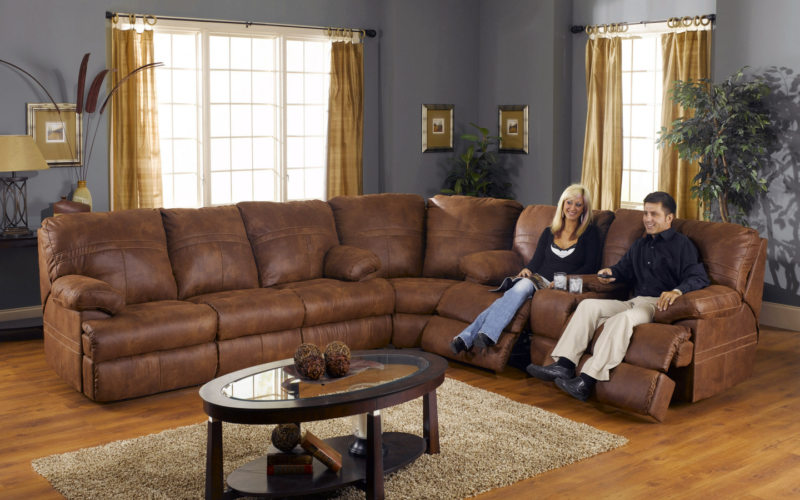 Leather seating living room (17)