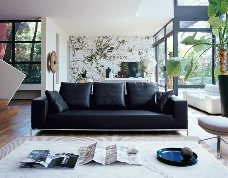 Leather seating living room (22)