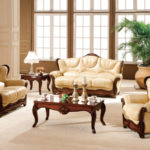 Leather seating living room (3)