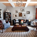 Leather seating living room (6)