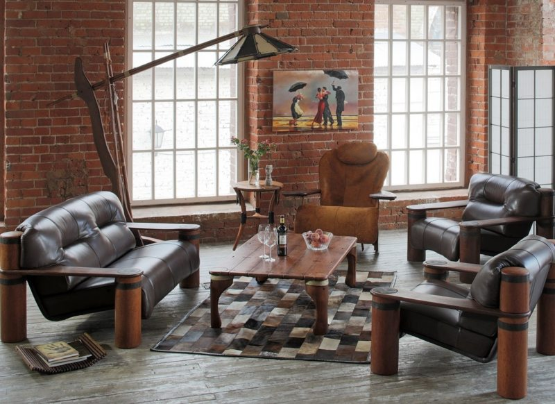 Leather seating living room (8)