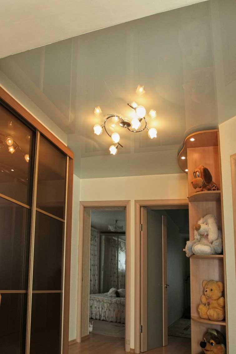 Натяжные потолки в прихожей (52)