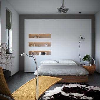 Ниша в спальне: ТОП-100 фото оригинальных идей ниши в интерьере