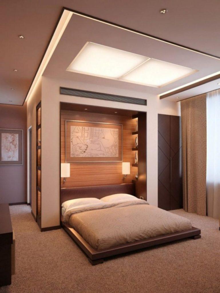 Дизайн практичный для спальни