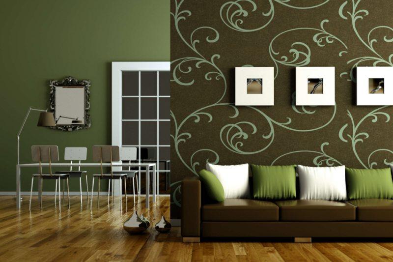 Оливковая гостиная (14)
