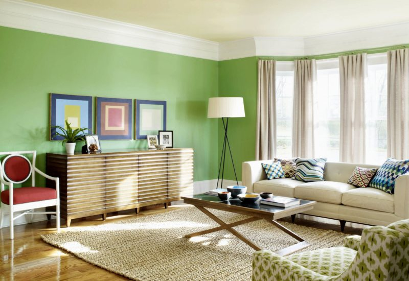 cool colors for living room paint