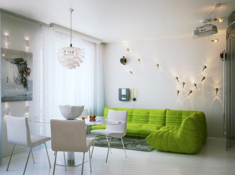 Оливковая гостиная (39)