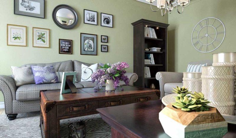 Оливковая гостиная (44)