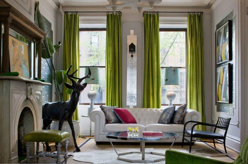 Оливковая гостиная (45)