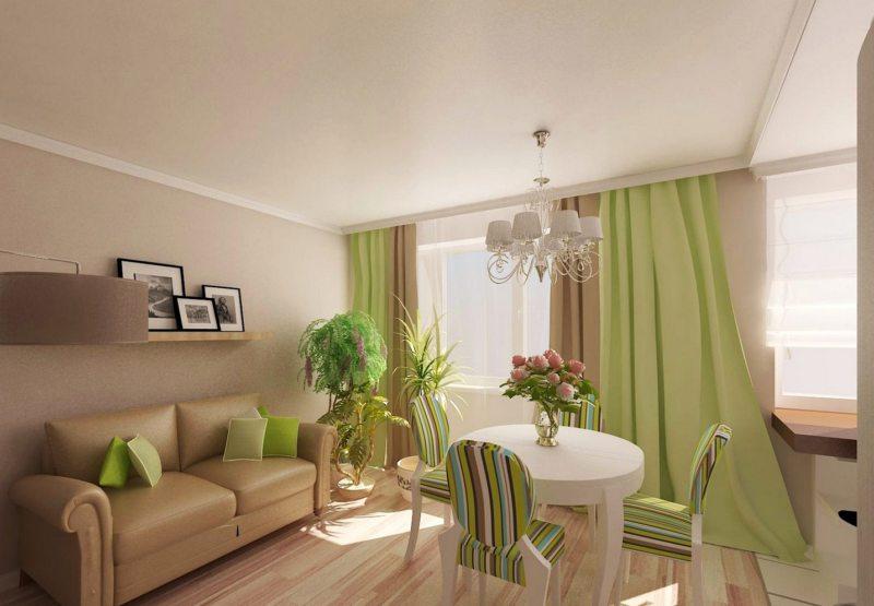 Оливковая гостиная (52)