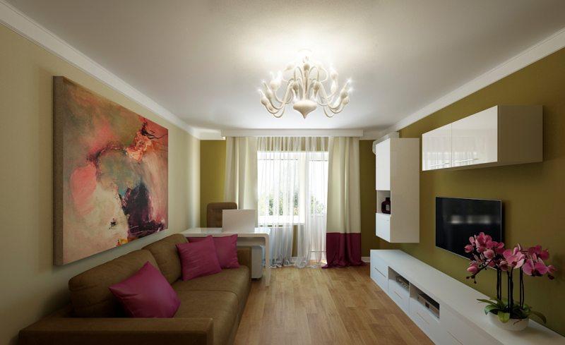 Оливковая гостиная (56)