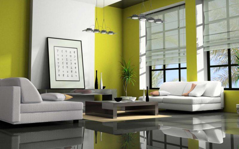 Оливковая гостиная (6)