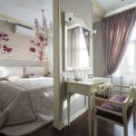 Перегородка в спальне (2)