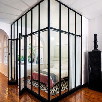 Перегородка в спальне — 70 фото вариантов идеального зонирования в спальне