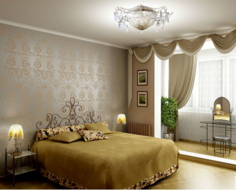 Перегородка в спальне (25)