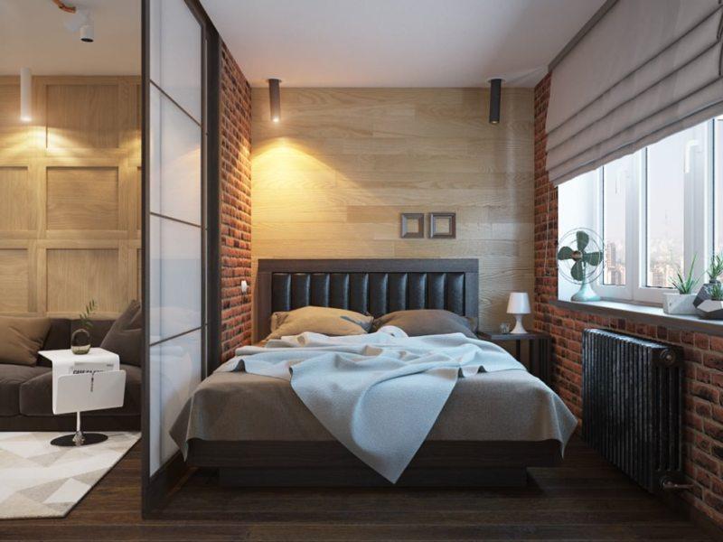 Перегородка в спальне (28)