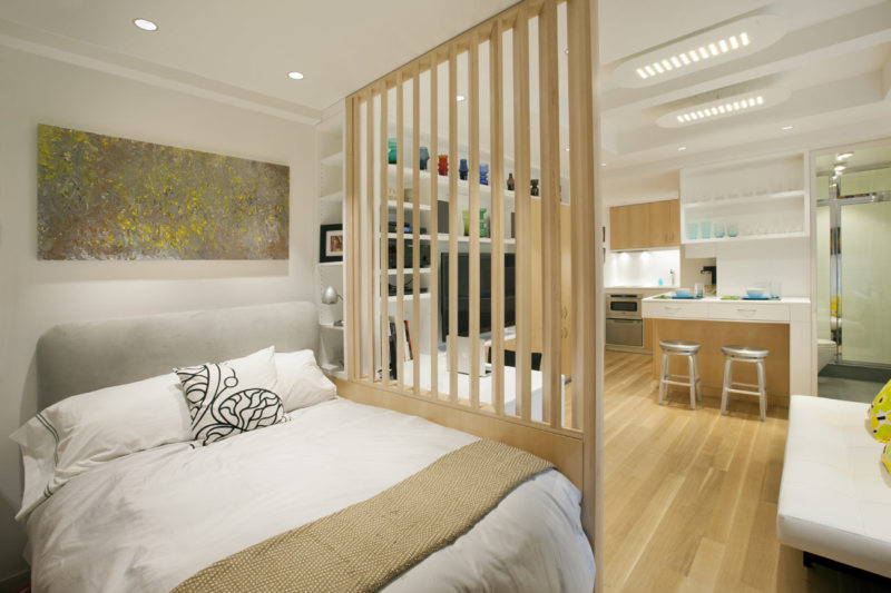Перегородка в спальне (45)