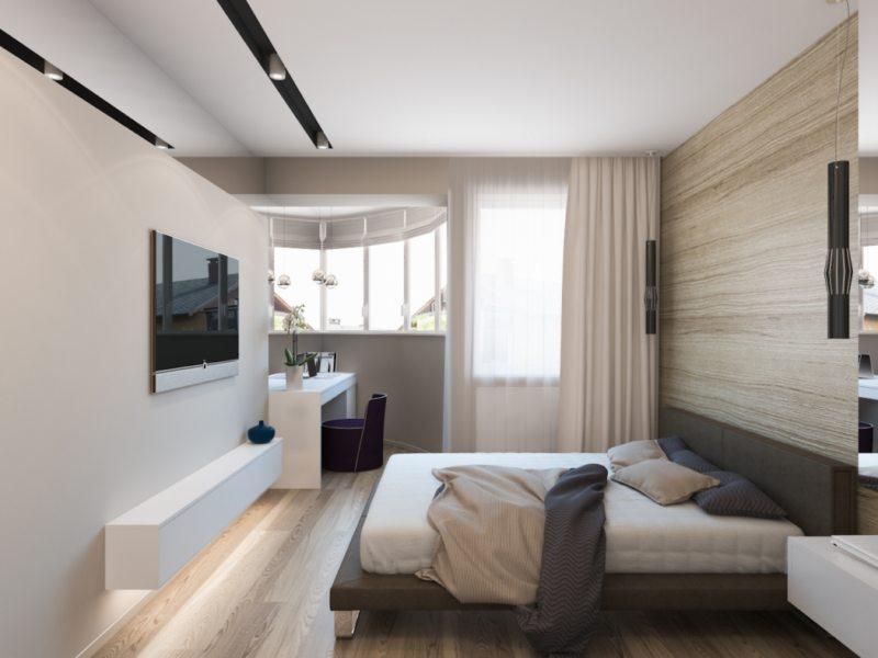 Перегородка в спальне (49)