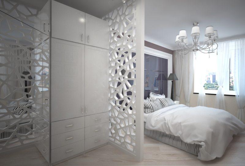 Перегородка в спальне (52)