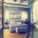 Перегородка в спальне (8)