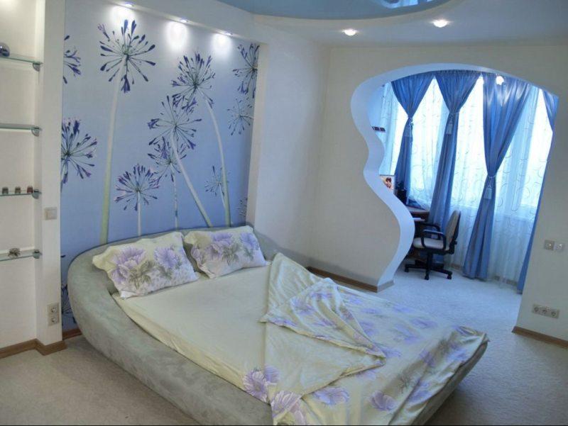Перегородка в спальне (9)
