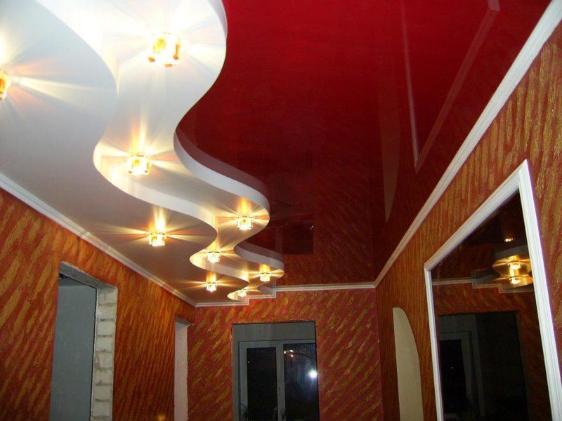 Потолок в прихожей (34)