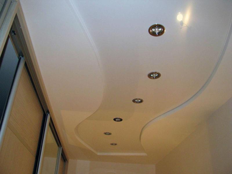 Потолок в прихожей (38)
