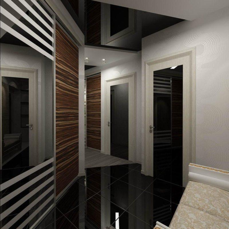 Потолок в прихожей (47)