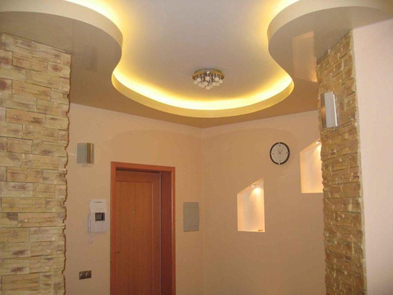 Потолок в прихожей (56)