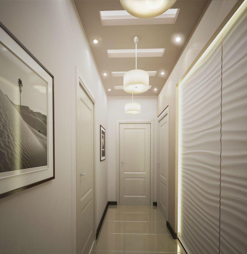 Потолок в прихожей (72)