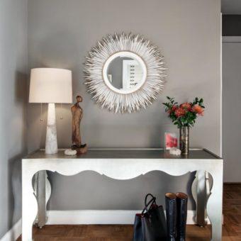 Прихожая в классическом стиле — стильный и элегантный дизайн на 80 фото