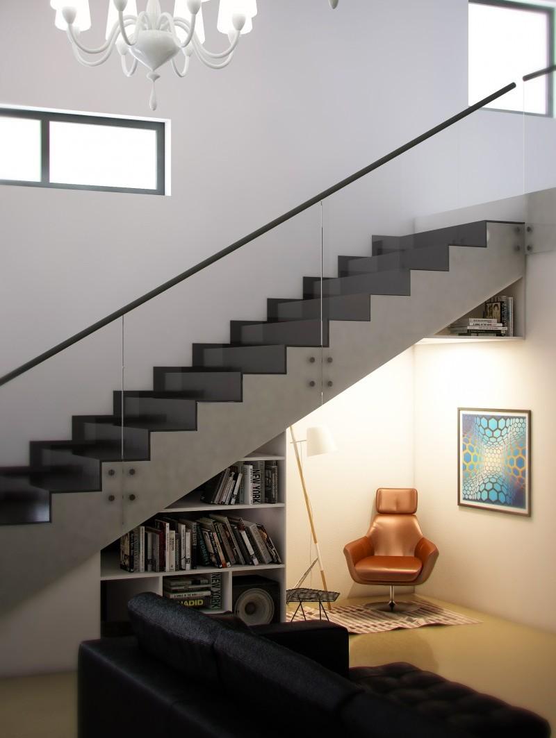 Пространство под лестницей (13)