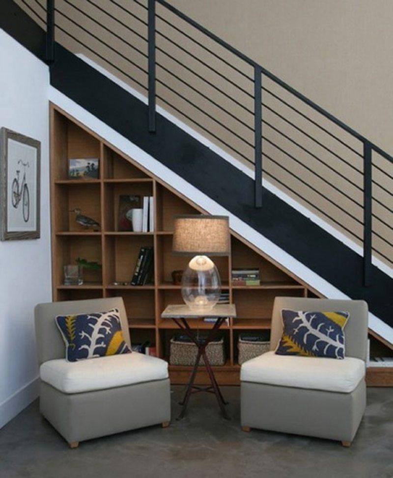 Пространство под лестницей (2)