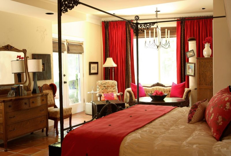 Cute Red Bedroom In Home Decor Ideas With Red Bedroom Ideas inside Master Bedroom Red