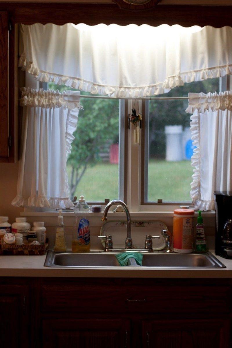 Шторы на кухню 2017 (71)