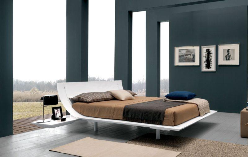 Современные спальни (21)