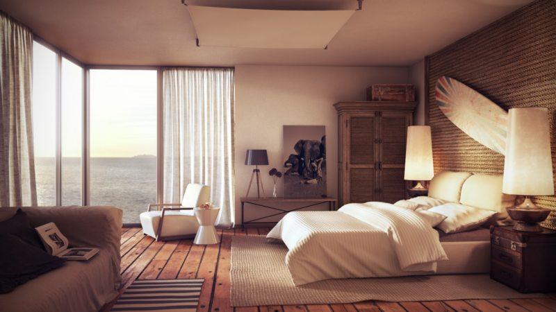 Современные спальни (35)
