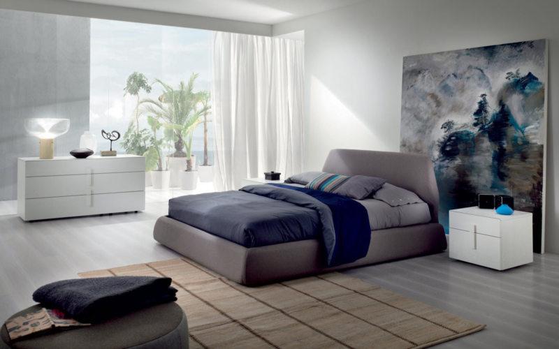 Современные спальни (36)