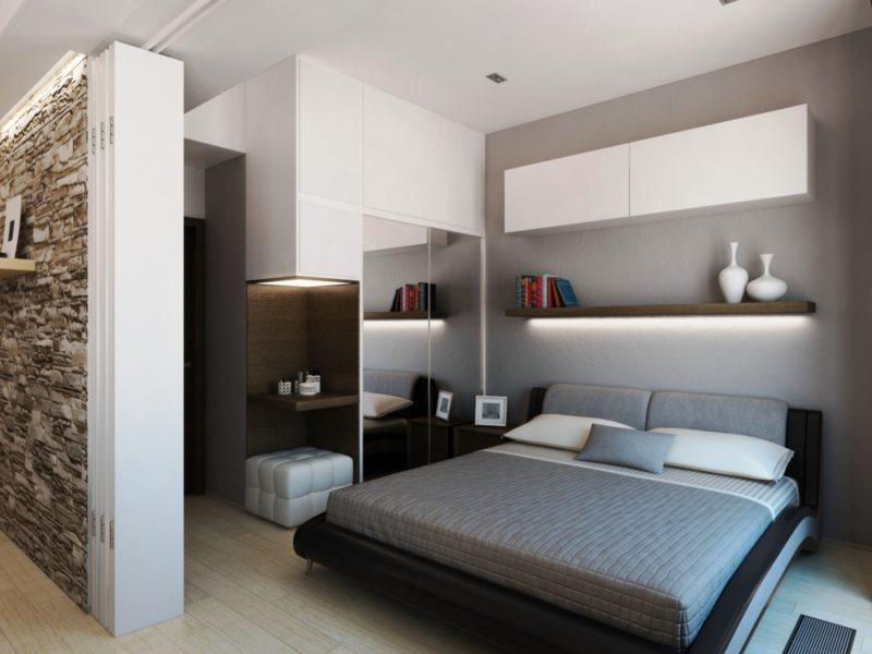 Современные спальни (40)
