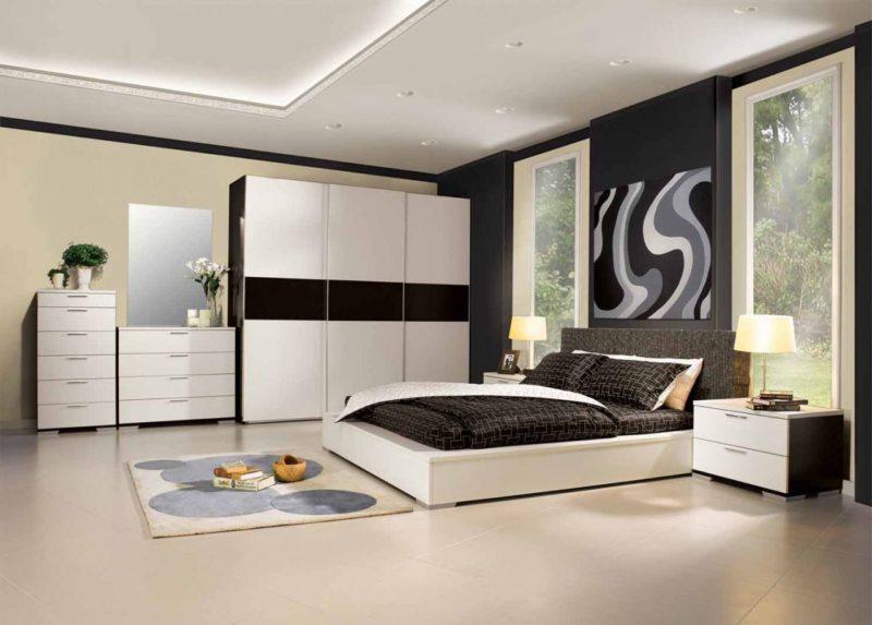 Современные спальни (42)