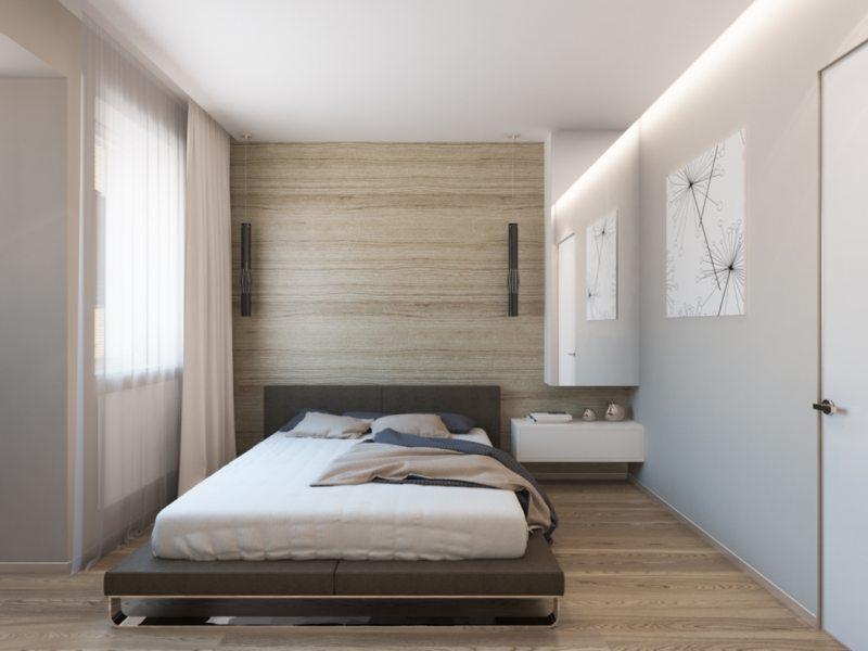 Современные спальни (43)