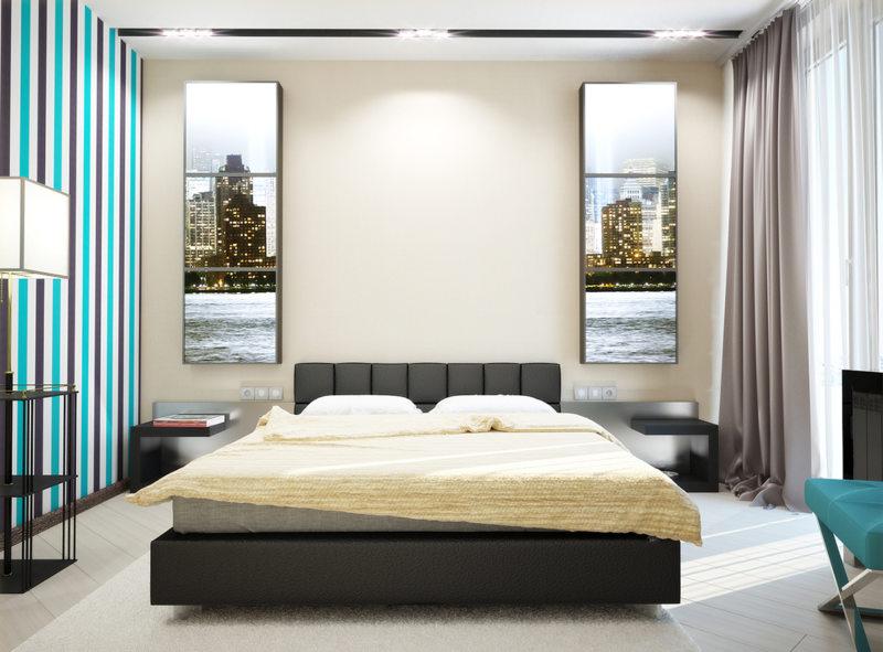 Современные спальни (46)