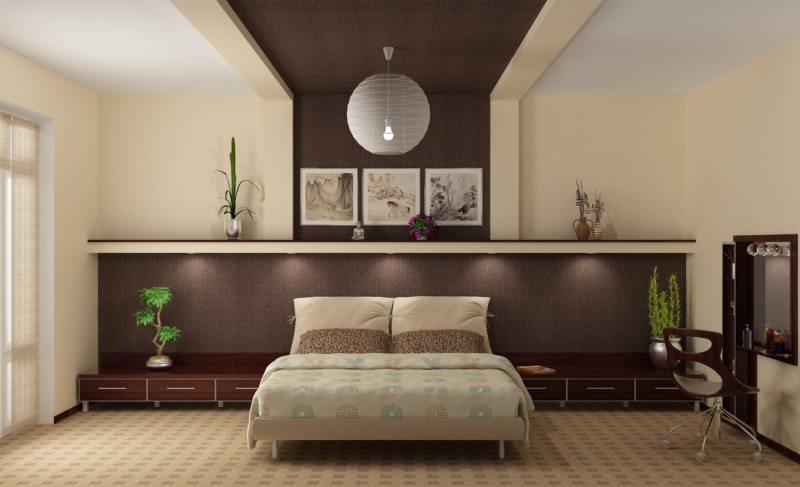 Современные спальни (50)